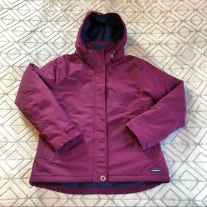 LANDS' END Hooded Squall Jacket